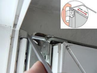 Регулировка окна