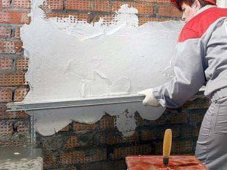 утепление кирпичной стены штукатуркой