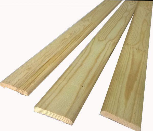 ровные деревянные наличники на двери