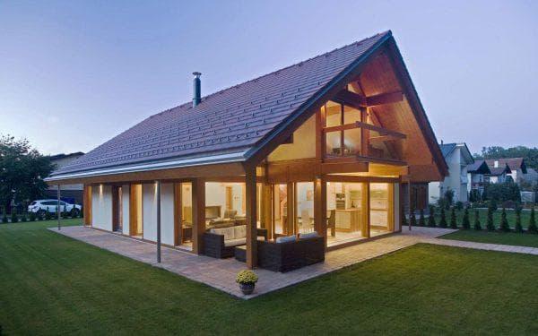 двухэтажный проект дома Стеклянная сказка