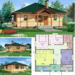 Основные проекты домов с панорамными окнами