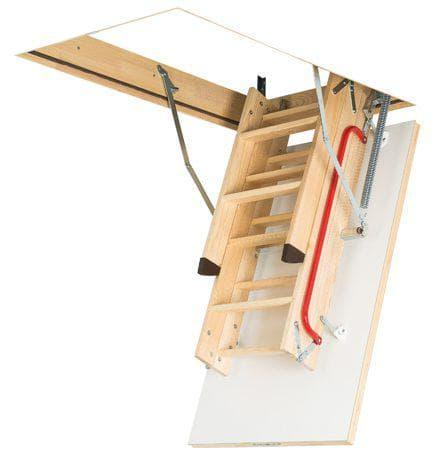 деревянные поручни для лестниц от Fakro