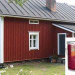 Как выбрать фасадную краску по дереву для наружных работ