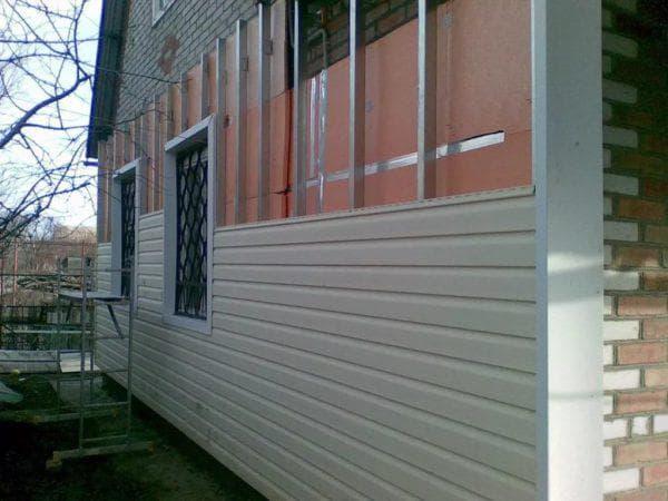 пенопласт для стен кирпичного дома снаружи под сайдинг