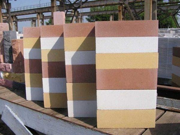силикатный облицовочный кирпич для фасада