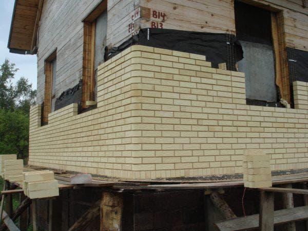 керамический облицовочный кирпич для фасада