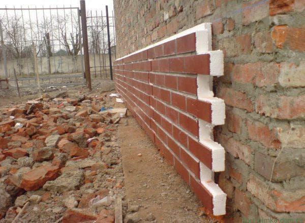 термопанели для кирпичной стены