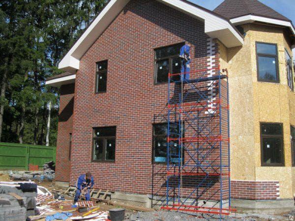 облицовка фасада дома термопанелями