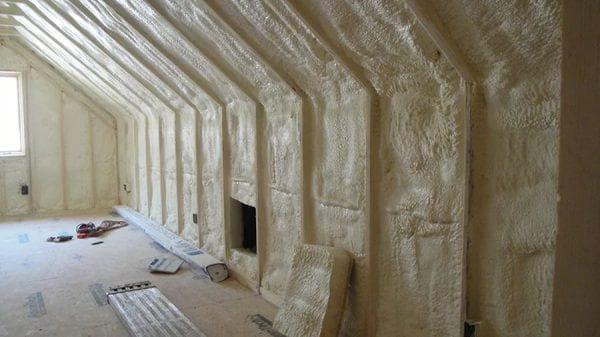 пенополиуретан для утепления кирпичной стены изнутри