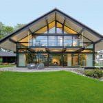 Лучшие проекты современных домов с панорамным остеклением
