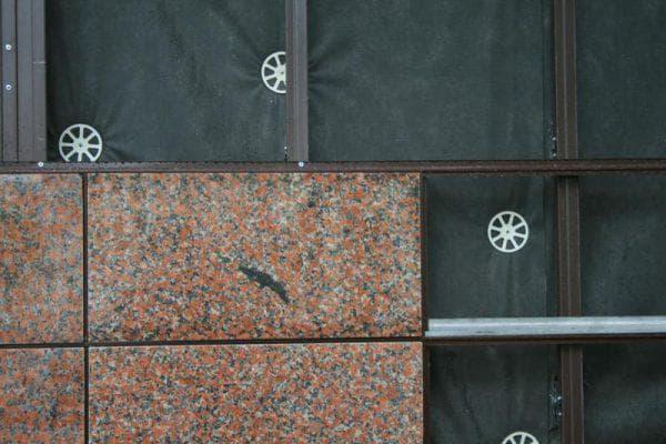 фасадные панели из керамогранита