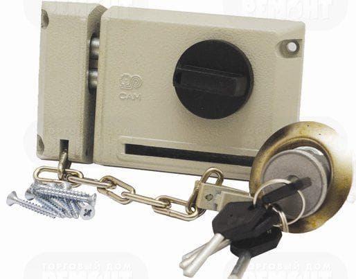 накладные замки для входной металлической двери Про-сам