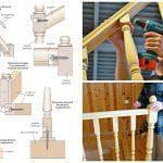 Высота перил и другие параметры лестниц в частных домах