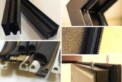 магнитный уплотнитель для металлических дверей