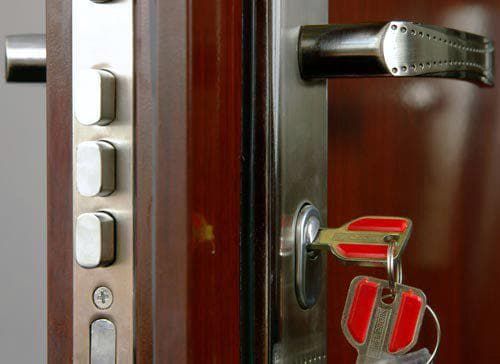 замок для входной металлической двери для квартиры