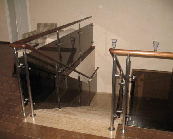 стеклянные ограждения для лестницы от Tisaje