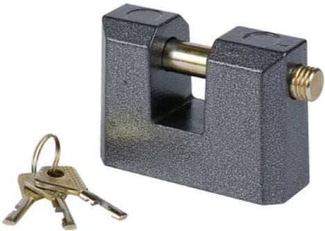 полузакрытый навесной замок для алюминиевых дверей