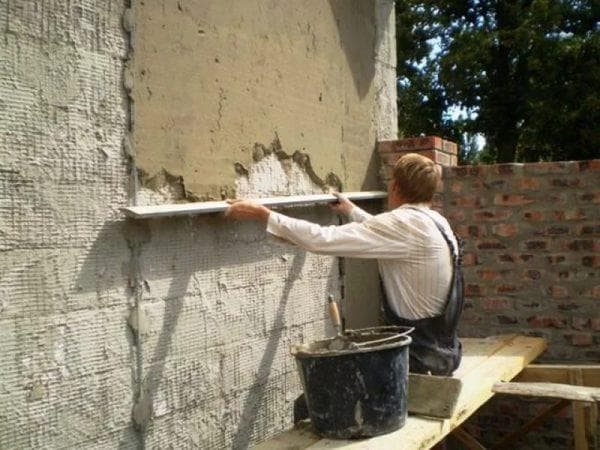 цементно-песчаный раствор для штукатурки