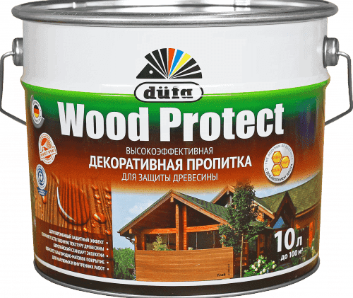 пропитка для дерева для наружных работ на основе растворителей
