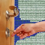 Как можно открыть замок входной двери без ключа