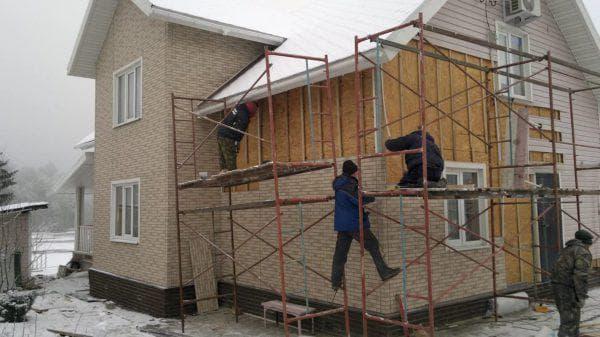 сайдинг для наружной отделки дома