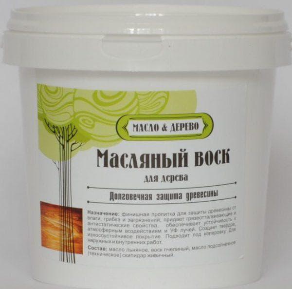 пропитка для дерева для наружных работ на восковой основе