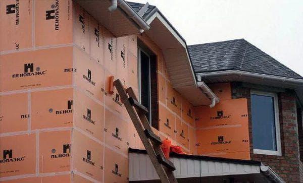 пеноплекс для утепления фасада дома