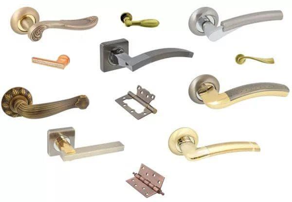 ручки с замком для межкомнатных дверей SOLGER